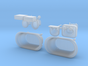 Bath Fixtures For SHAPEWAYS 3 in Frosted Ultra Detail