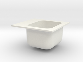 SINK 03 in White Strong & Flexible