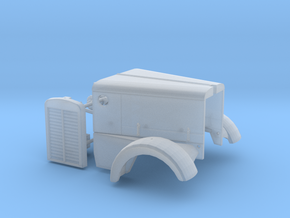 1/64th Peterbilt narrow nose long hood only in Frosted Ultra Detail