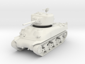 US M4A1 Sherman 1:48th 28mm in White Strong & Flexible