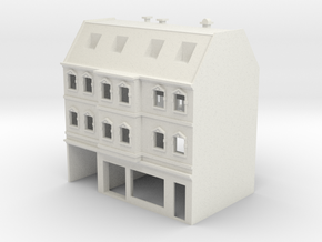 Stadthaus 3 - 1:220 (Z scale) in White Strong & Flexible