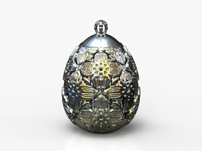 PA PFabergeV1fSE4943xD24x30 in Rhodium Plated