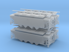 U10 / P9 N Scale Four Pack in Frosted Ultra Detail