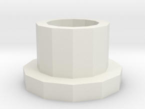 Spincolumn adapter for 5mL tubes in White Strong & Flexible