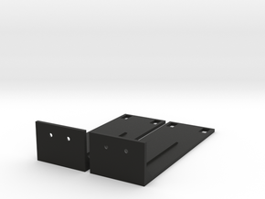 SRX100 JUNIPER BRACKET in Black Strong & Flexible