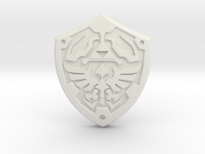 Royal Shield II in White Strong & Flexible