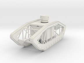 PV32A Pioneer Skeleton Tank (28mm) in White Strong & Flexible