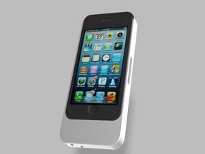 iPhone5 5s 5c 1500mah Charger with USB Power Out in White Strong & Flexible