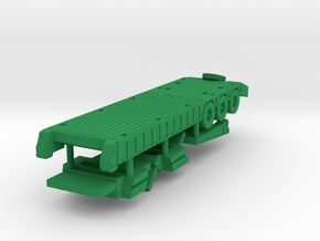 1/144 M870A1 Trailer in Green Strong & Flexible Polished