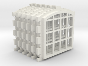 Engine Shed 6 Window Set Master in White Strong & Flexible