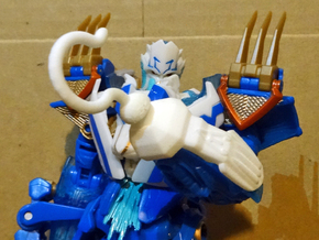 Thundatronic Hook-Hand in White Strong & Flexible Polished