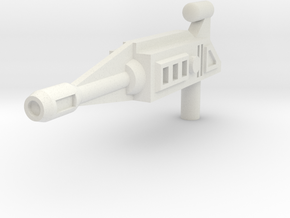 Dragster Rifle(5mm handle) in White Strong & Flexible