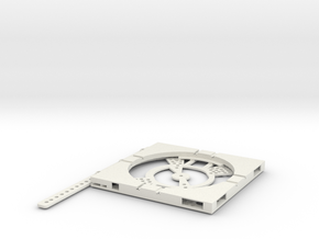 T-165-wagon-turntable-84d-100-plus-base-1a in White Strong & Flexible