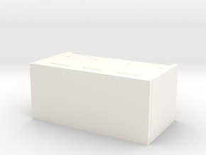 1/16 scale Firefly Radio Box in White Strong & Flexible Polished
