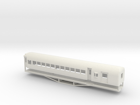AL Car-van, New Zealand, (OO Scale, 1:76) in White Strong & Flexible