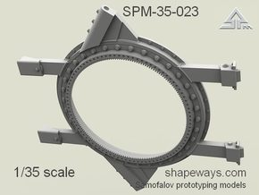 1/35 SPM-35-023 turret ring in Frosted Extreme Detail