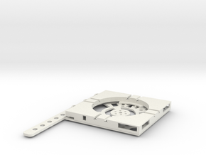 T-9-wagon-turntable-48d-100-plus-base-flat-1a in White Strong & Flexible