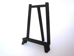 3D Relief Micro-Painting Stand-Large in Black Strong & Flexible