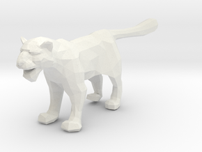 Snow Leopard - Toys in White Strong & Flexible
