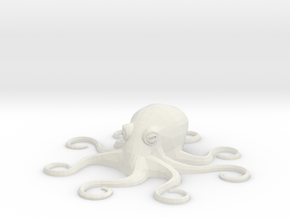 Octopus Mini - Toys in White Strong & Flexible
