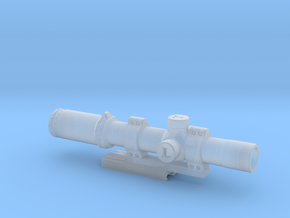 1/6 scale Leupold Mark 8 scope in Frosted Ultra Detail