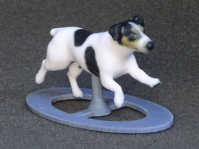 Running Jack Russell 1 in Full Color Sandstone