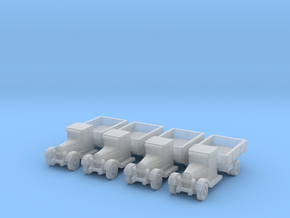 6mm ZIS-5 trucks (4) in Frosted Ultra Detail