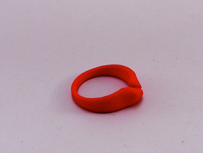 Divide a Mountain - Ring - Size54 - diam 17,2mm in Blue Strong & Flexible Polished