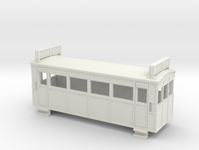 009 Drewry 4w railcar with roof radiators  in White Strong & Flexible