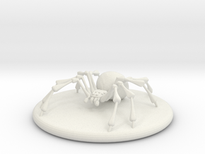 Large Spider in White Strong & Flexible