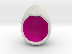 LuminOrb 2.6 - Egg Stand in Full Color Sandstone