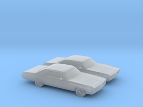 1/160 2X 1971 Chrysler New Yorker in Frosted Ultra Detail