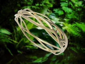 Incredible Minimalist Bracelet #coolest (M/L) in 14k Gold Plated