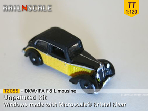 DKW/IFA F8 Limousine (TT 1:120) in Frosted Ultra Detail