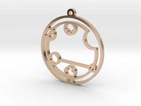 Caitlyn / Kaitlyn - Necklace in 14k Rose Gold Plated