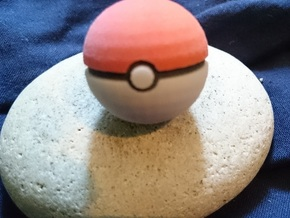 Pokeball Solid in Full Color Sandstone