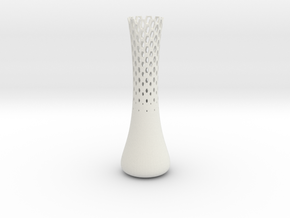 Jin Vase  in White Strong & Flexible