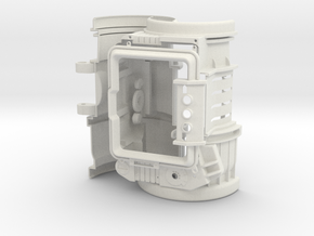 Arm computer body in White Strong & Flexible