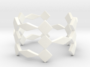 Triple X Ring Size 7.25 in White Strong & Flexible Polished