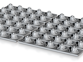 MILLENNIUM DEAGO SET 12 CORRIDOR LIGHTS in Frosted Ultra Detail
