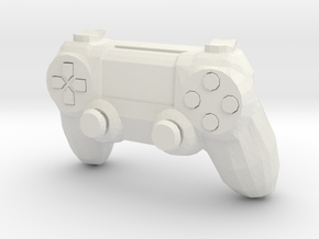 1:6 PS4.1 Controller in White Strong & Flexible