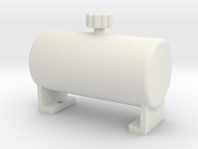 Fake fuel tank ''standard'' in White Strong & Flexible