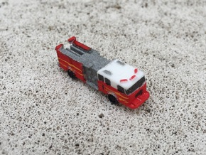 Seagrave Engine 1:285 scale in White Strong & Flexible