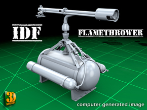 IDF Flamethrower (1/35) in Frosted Ultra Detail
