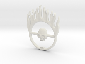 Furiosa buckle from Mad Max: Fury Road in White Strong & Flexible