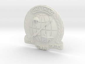 1.5 inch CCT Crest in White Strong & Flexible