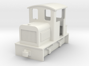 009 small Endcab diesel 1  in White Strong & Flexible