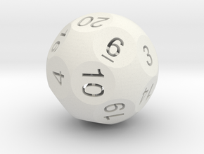 Dx - D20 in White Strong & Flexible