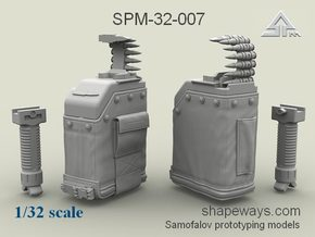 1/32 SPM-32-007 LBT MK48 Box Mag in Frosted Extreme Detail