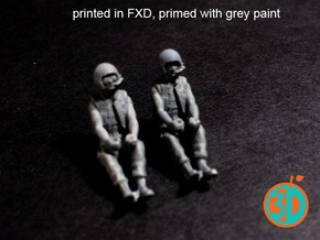 Vietnam US Tank Drivers 1/72 scale SWFUD-72-008 in Frosted Ultra Detail